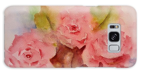 Tre Rose Galaxy Case by Kathleen Pio