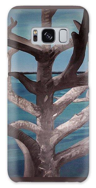 Tree And Beach Galaxy Case