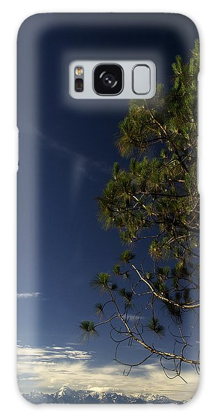 Tree And Mountain Galaxy Case