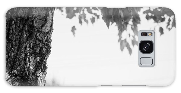 Tree Bark And Leaves Galaxy Case by John Rossman