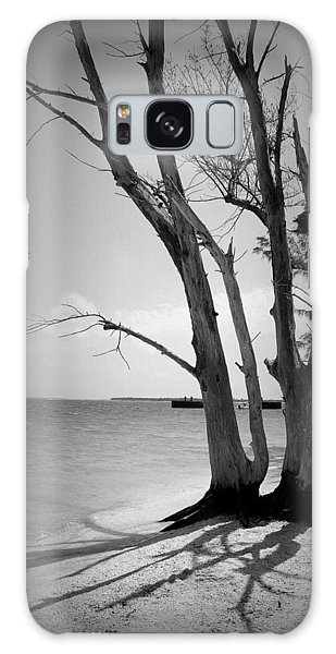 Tree By The Sea Galaxy Case