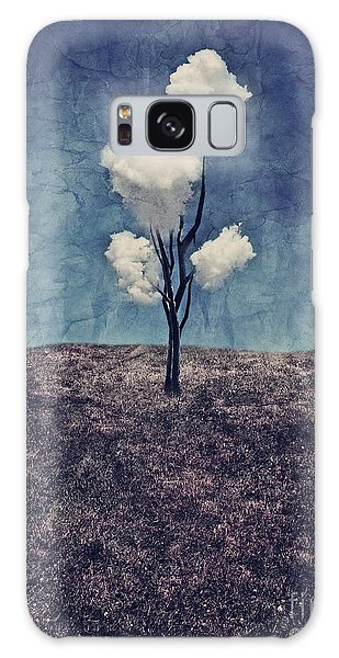 Tree Clouds 01d2 Galaxy Case by Aimelle