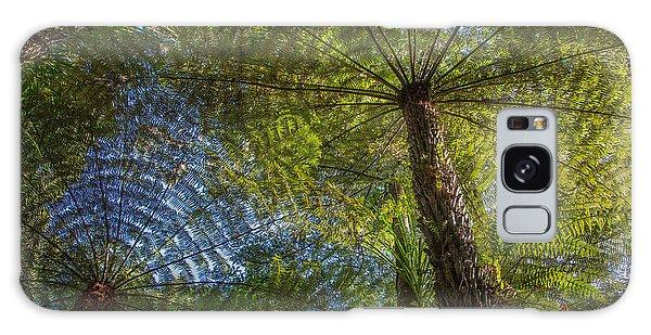 Tree Ferns From Below Galaxy Case
