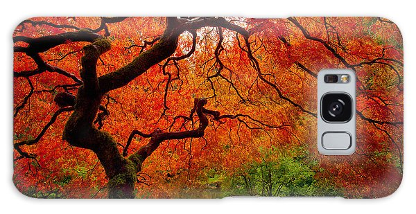 Tree Galaxy Case - Tree Fire by Darren  White
