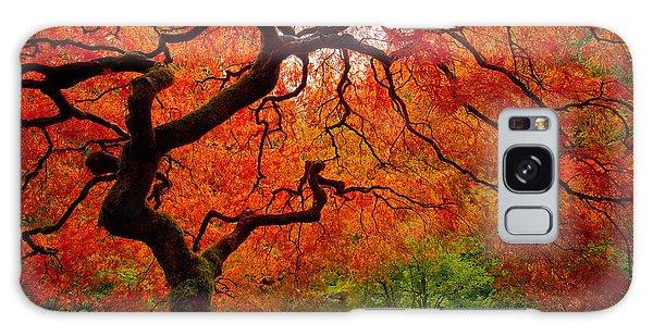 Tree Fire Galaxy Case by Darren  White