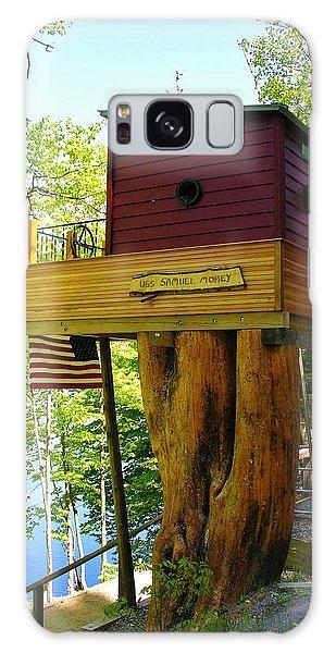 Tree House Boat Galaxy Case