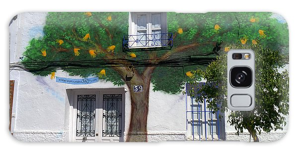 Tree House In Spain Galaxy Case