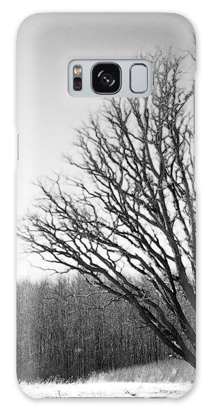 Tree In Winter 2 Galaxy Case