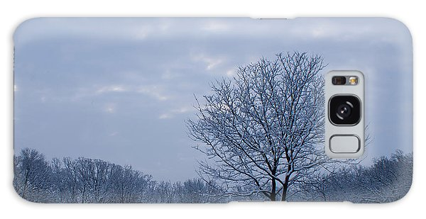 Tree In Winter Galaxy Case by Larry Bohlin