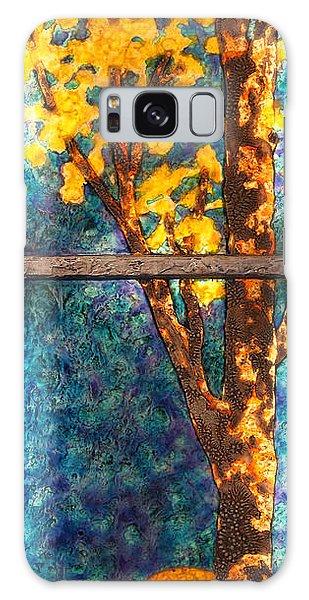 Tree Inside A Window Galaxy Case
