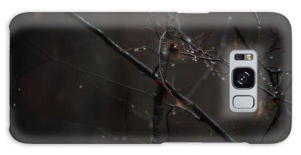 Tree Limb With Rain Drops 2 Galaxy Case