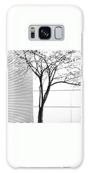 Tree Lines Galaxy Case by Darryl Dalton