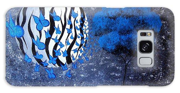 Tree Of Butterflies Galaxy Case by Oddball Art Co by Lizzy Love