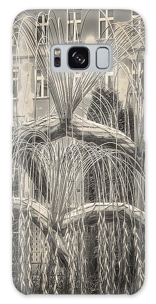 Galaxy Case featuring the photograph Tree Of Life Dohany Street Synagogue by Joan Carroll