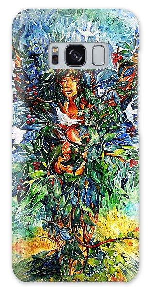 Tree Of Life  Galaxy Case by Trudi Doyle