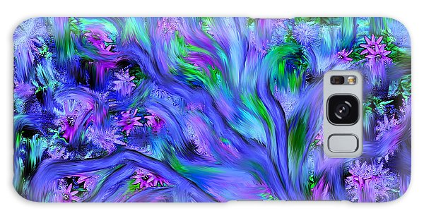 Tree Of Peace And Serenity Galaxy Case by Sherri's Of Palm Springs