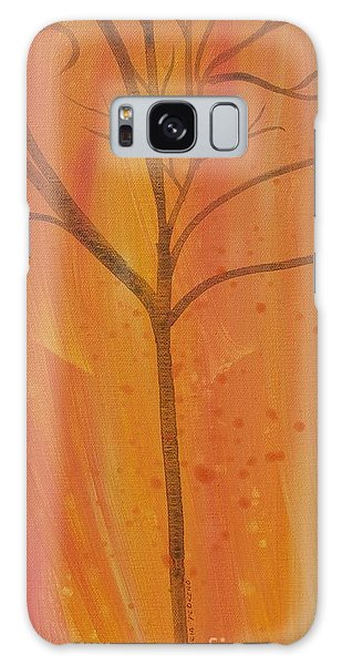Tree Of Three Coral Galaxy Case by Robin Maria Pedrero