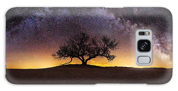 Galaxy Galaxy Case - Tree Of Wisdom by Aaron J Groen