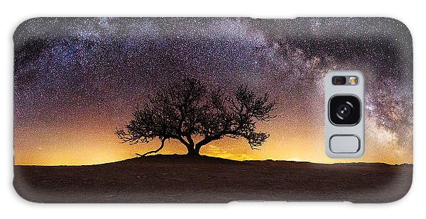 Tree Of Wisdom Galaxy Case by Aaron J Groen