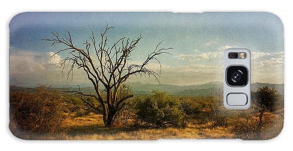 Tree On Caballo Trail Galaxy Case by Marianne Jensen