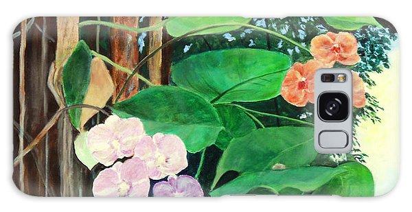 Tree Orchids Galaxy Case by Nancy Czejkowski