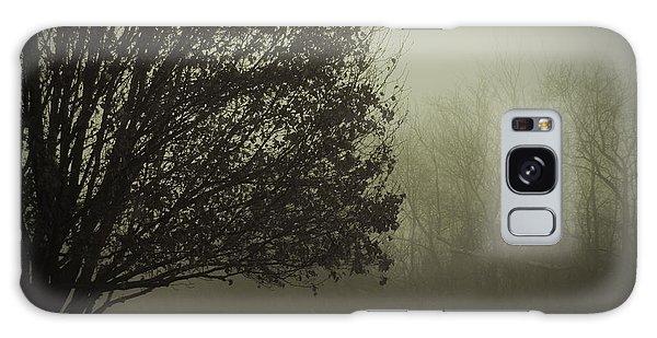 Tree Outside My Window Galaxy Case by Cedric Hampton