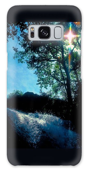 Tree Planted By Streams Of Water Galaxy Case