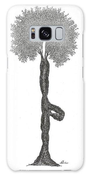 Tree Pose Galaxy Case