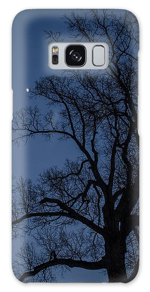 Tree Reaching For The Moon Galaxy Case