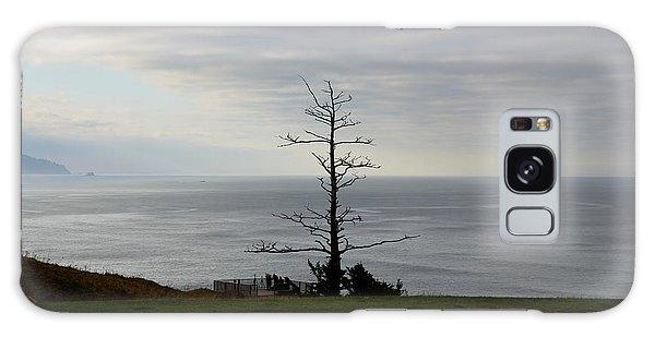 Tree Statue Galaxy Case