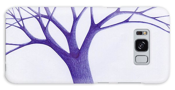 Tree - The Great Hand Of Nature Galaxy Case by Giuseppe Epifani