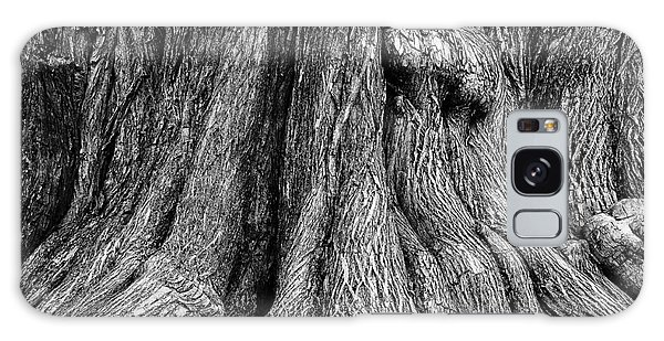 Tree Trunk Closeup Galaxy Case