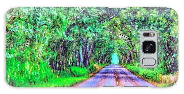 Tree Tunnel Kauai Galaxy Case