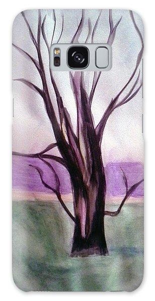 Tree Watercolor Galaxy Case