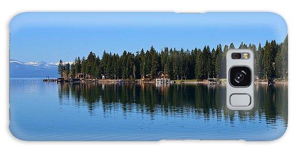 Treeline Lake Tahoe Galaxy Case