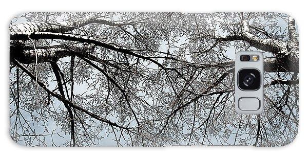Trees  1 Galaxy Case by Minnie Lippiatt