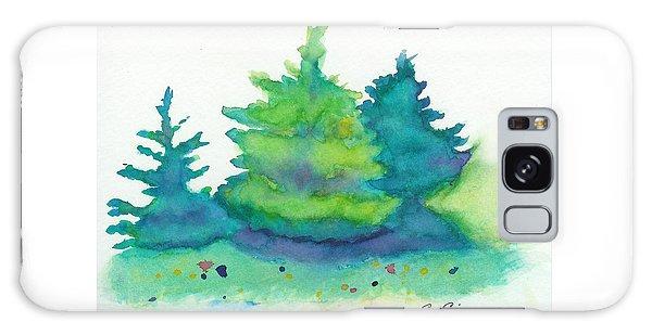 Trees 2 Galaxy Case by C Sitton