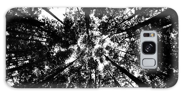 Trees Above Me Galaxy Case by Daniel Woodrum
