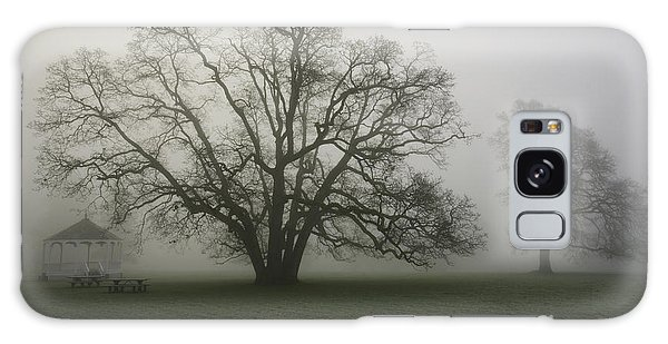 Trees In Fog Galaxy Case by Rich Collins