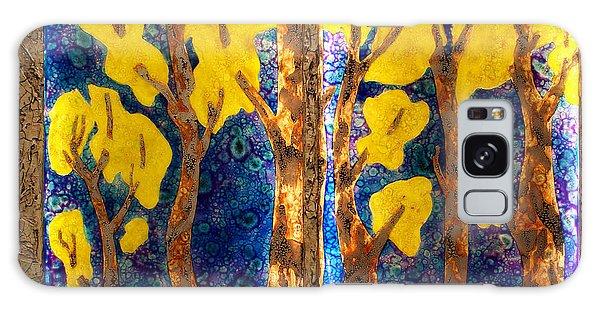Trees Inside A Window Galaxy Case