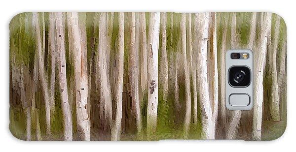 Trees No. 13 Galaxy Case