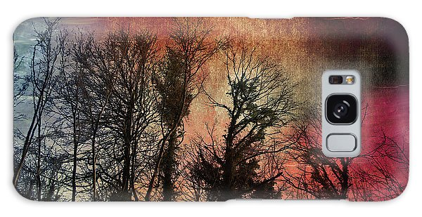 Trees No.7  Galaxy Case by Andy Walsh
