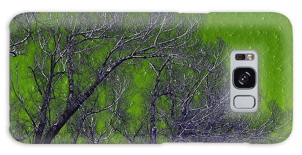 Trees On Green Sky Galaxy Case