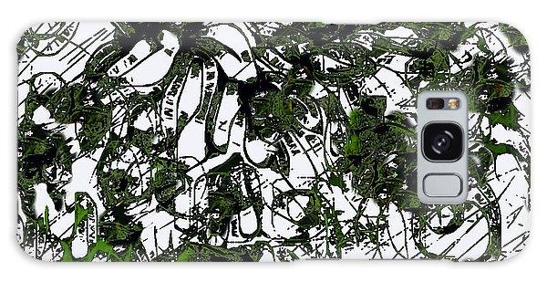 Trees  Galaxy Case by Shabnam Nassir