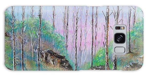 Trees With Cuatro Galaxy Case