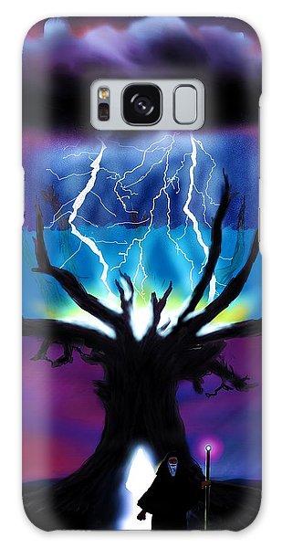 Strange Clouds Galaxy Case - Treestorm by Randy Hulshizer