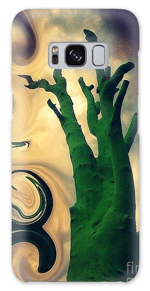 Treeswirl Galaxy Case by Susan Townsend