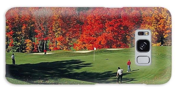 Treetops Golf Galaxy Case by Dennis Cox WorldViews