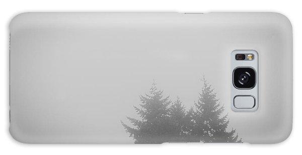 Treetops In Fog Galaxy Case