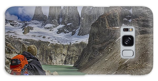 Trek To Torres Del Paine Galaxy Case by Gary Hall